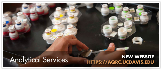 AQRC - Analytical services